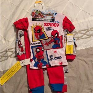 Other - Spider-Man pajama sets